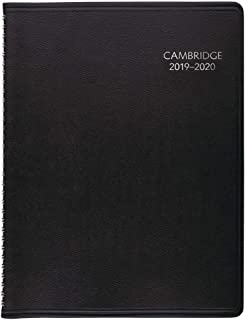 2019-2020 Academic Planner, Cambridge Weekly & Monthly Appointment Book, 8