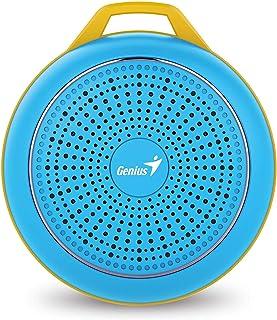 مكبر صوت بلون ازرق زاهٍ طراز SP-906BT
