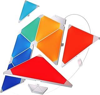 comprar comparacion Nanoleaf Rhythm - Kit de inicio de Paneles luminosos – 9 x luces LED modulares inteligentes, módulo de sonido, en plástico...