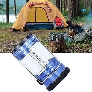 Luz de acampamento, luz branca conveniente e segura para barraca com alça para acampamento para caminhadas e pesca noturna