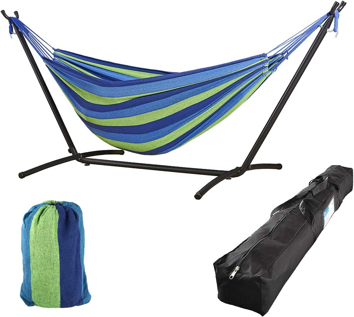 Cloud Mountain Finefind Double Selling rankings Hammock Duty Heavy Max 55% OFF with Stand Ste