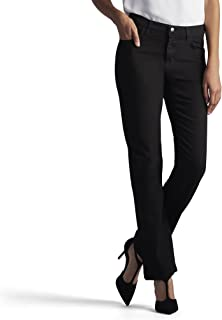 LEE Women's Stretch Relaxed Fit Straight Leg Jean