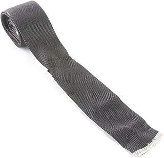 J. LINDEBERG Men's Square End Silk Neck Tie, Grey, One Size