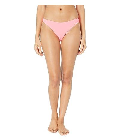 Stella McCartney 90s High Leg Bikini Bottoms (Fluo Pink) Women