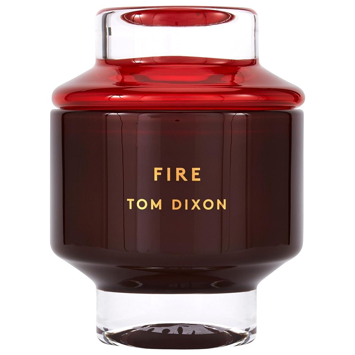 適度に科学者ティーンエイジャーTom Dixon Fire Scented Candle Large (Pack of 2) - トム?ディクソン火災大型香りのキャンドル x2 [並行輸入品]