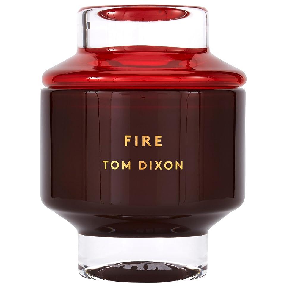 不足疲労独立したTom Dixon Fire Scented Candle Large - トム?ディクソン火災大型香りのキャンドル [並行輸入品]