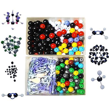 フェリモア 分子構造模型 分子モデル セット 組み立て式 原子 元素 化学 理科 イオン (444pcs)