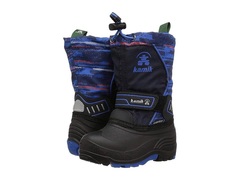 Kamik Kids Snowcoastp (Toddler/Little Kid/Big Kid) (Navy/Blue) Boys Shoes