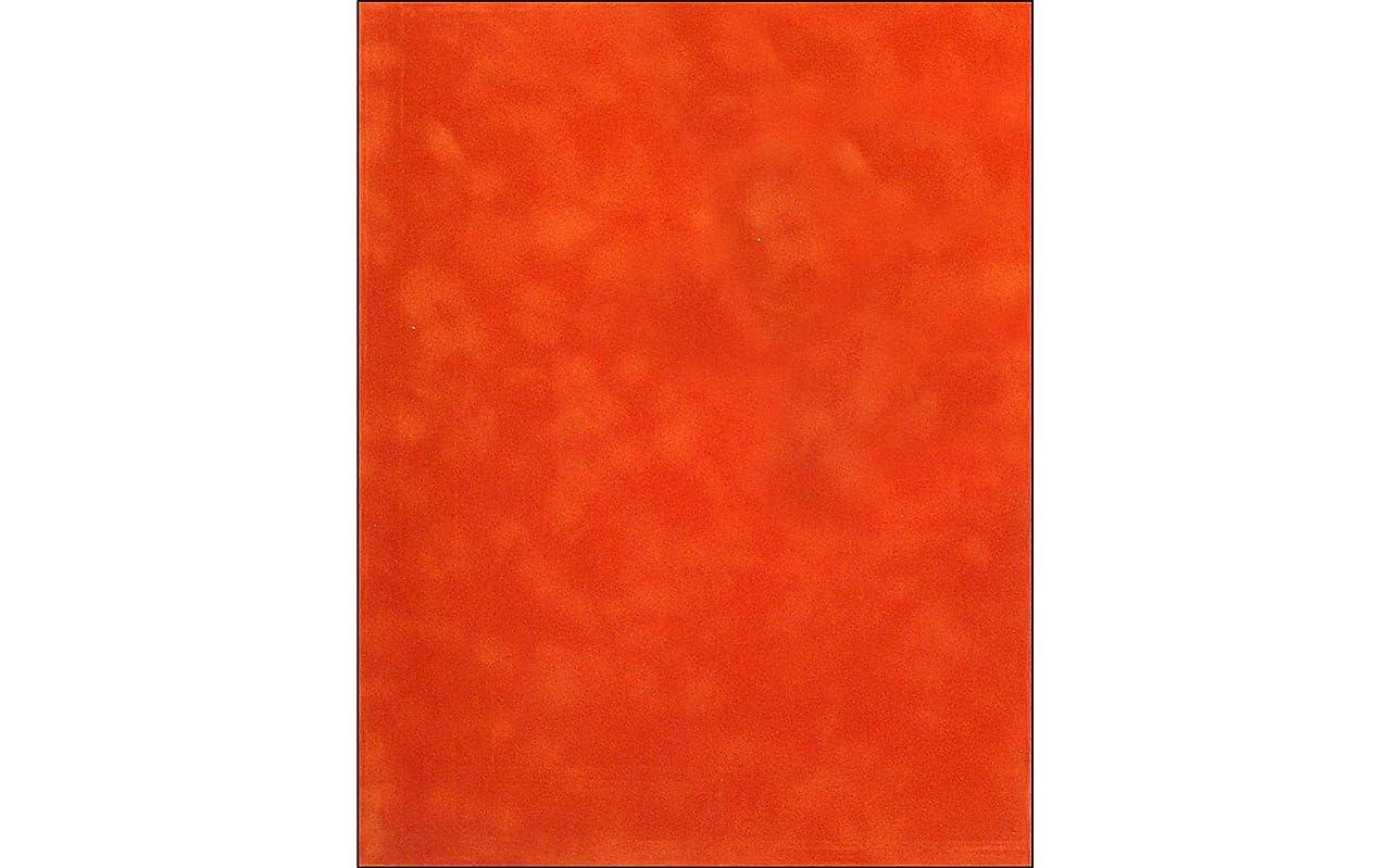 Sew Easy Industries 12-Sheet Velvet Paper, 8.5 by 11-Inch, Rust