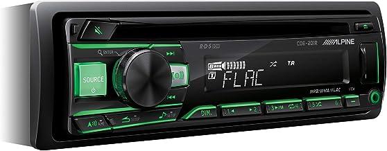 Alpine CDE-201R Radio de Coche, Negro