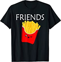 Matching Set - Burger and Fries Shirt - Best Friends Shirt