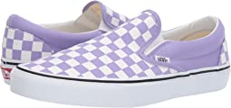 (Checkerboard) Violet Tulip/True White