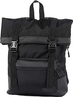 Waterproof Rolltop Backpack - Casual Urban Roll Top Daypack - Travel Notebook Laptop Backpack For Men Women - 13-15 in