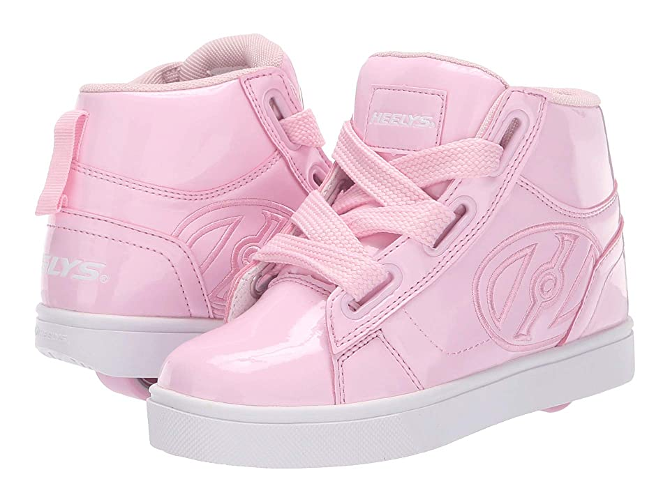 Heelys High Line (Little Kid/Big Kid/Adult) (Light Pink Patent) Girls Shoes