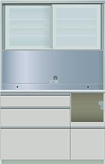 パモウナ 食器棚ME シルキーアッシュ 幅120×高さ187×奥行45 日本製 MER-S1200R