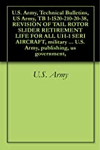U.S. Army, Technical Bulletins, US Army, TB 1-1520-210-20-38, REVISION OF TAIL ROTOR SLIDER RETIREMENT LIFE FOR ALL UH-1 SERI AIRCRAFT, military manauals, ... U.S. Army, publishing, us government,