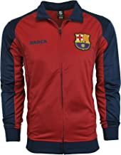 Fc Barcelona Jacket Track Soccer Adult Sizes Soccer Football Official Merchandise X-Large Blue Maroon