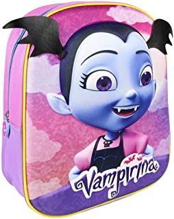 3D Vampirina, Mochila Infantil, 31 cm, 8.06 liters, Violeta