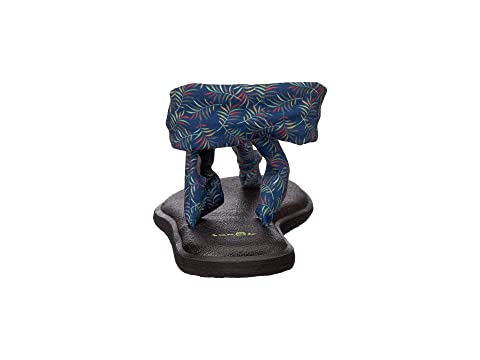 Sanuk Yoga Sling Ella Prints Navy Paradise Palms Free Shipping Limited Edition Sale Top Quality Factory Outlet Cheap Online x9JpnTS0