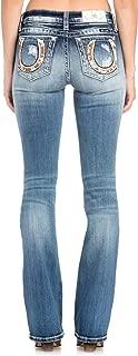 jeans horseshoe design pocket
