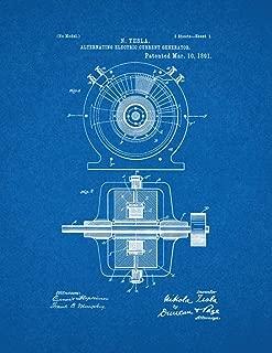 tesla generator blueprints