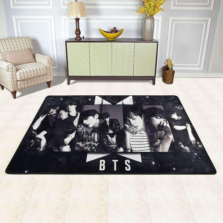 BTS Carpet Pop Art Direct store Area Super Special SALE held Rugs Kitchen Mat Flo Bedroom Room Living