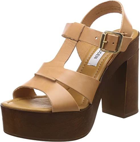 Women s Mischa Tan Leather Fashion Sandals 5 5 UK India 38 EU 7 5 US 824095319300