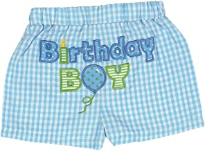 Bearington Baby His 1st Birthday Diaper Cover, Boy's First Birthday Outfit