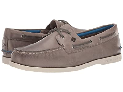 Sperry A/O 2-Eye Plush (Grey) Men