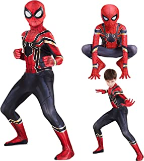 FC Spider-Verse costume for Kids Bodysuit Superhero Costumes,Kids Halloween Costume,Full Jumpsuit, Kids Bodysuits for Part...