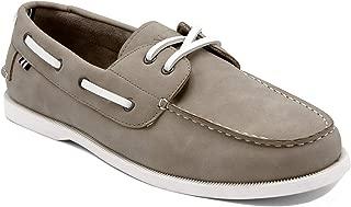 Men's Nueltin Casual Boat Shoe Loafer 2 Eye Lace Moccasins