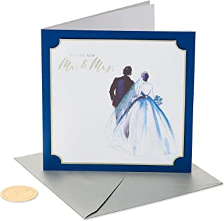 Papyrus Wedding Card for Couple (The New Mr. and Mrs.)