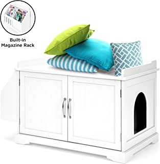 Best large white storage bench Reviews