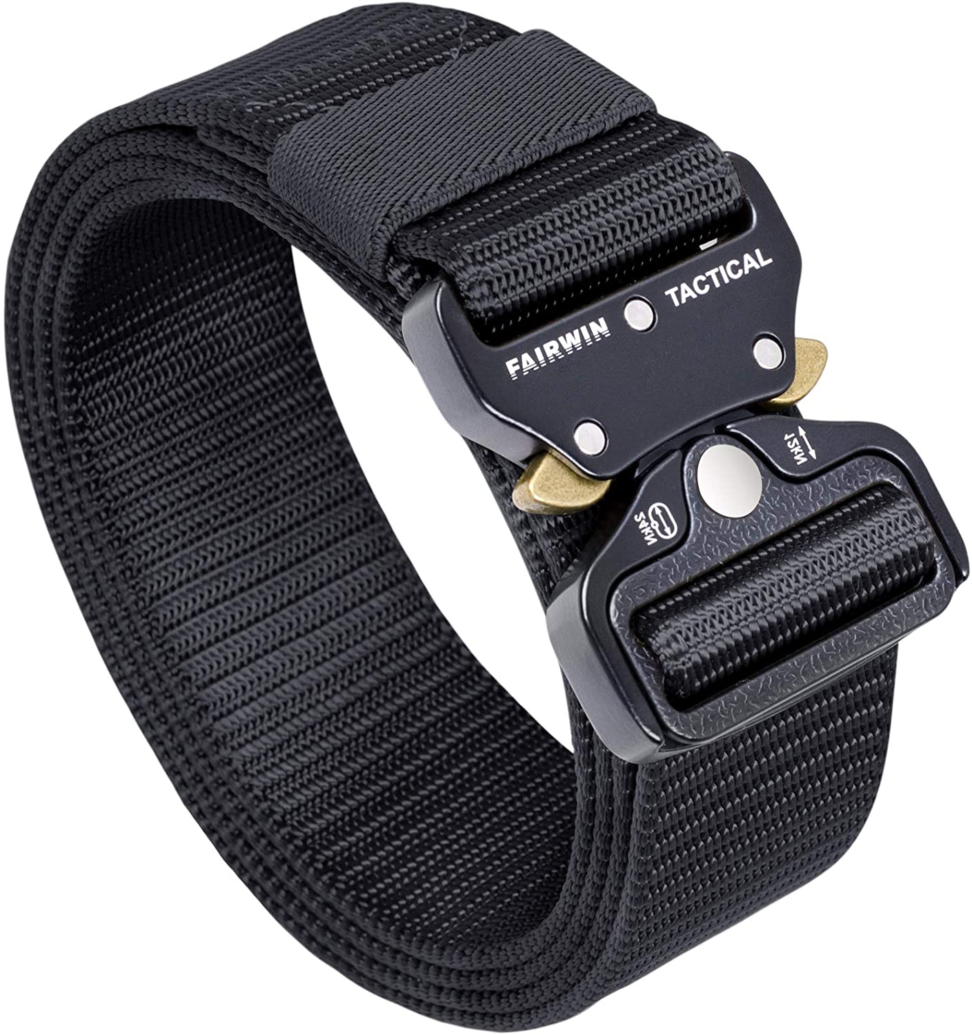FAIRWIN Tactical Belt Military Style Webbing Riggers Be free Web Ranking TOP15 Gun