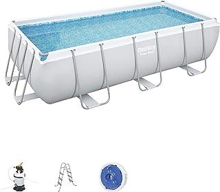 Bestway Pool Set Power Steel Rectangular 404 X 201 X 100 cm, 56442