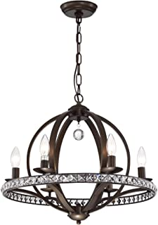 Best lovi 6 light antique bronze pendant lamp Reviews