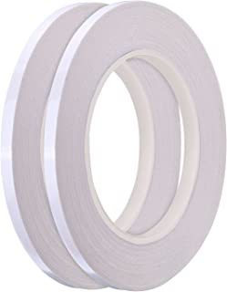 Hotop 1/4 Inch Quilting Sewing Tape Wash Away Tape, Each 22 Yard (2 Rolls)