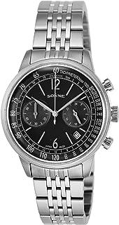 [ゾンネ]SONNE 腕時計 ヒストリカルコレクション ブラック文字盤 HI002BK メンズ