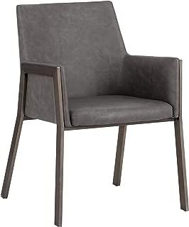 Sunpan Ikon Dining Chairs, Grey