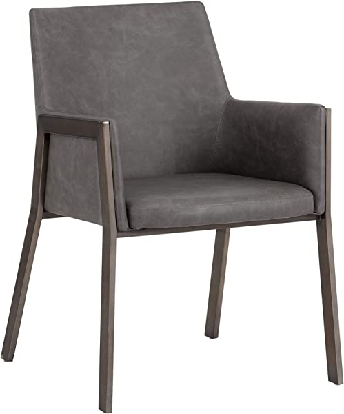 Sunpan 103154 Ikon Dining Chairs Grey
