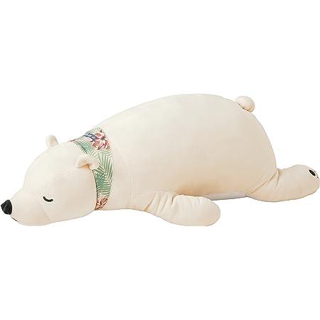 りぶはあと 抱き枕 プレミアムねむねむアニマルズクール しろくまのラッキー Lサイズ W76xD32xH20cm 58016-11