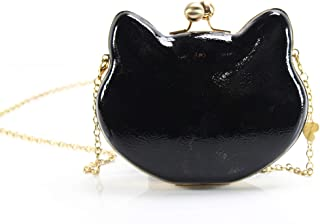 Betsey Johnson Here Kitty Kitty Cat Shaped Clutch Purse With Optional Strap
