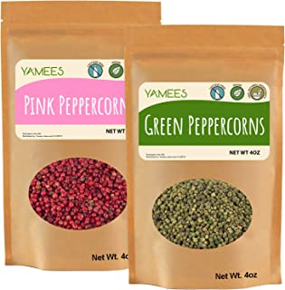 Sponsored Ad - Yamees Peppercorns – Whole Peppercorns – Bulk Spices - Choose Your Custom Variety Pack - Black, White, Gree...