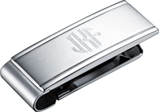 Inc LXG Davidson College Two-Toned Money Clip Silver