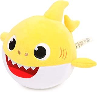 Pinkfong Baby Shark Official Spinning and Singing Interactive Plush Toy