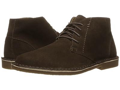 Nunn Bush Galloway Plain Toe Chukka Boot (Dark Brown) Men