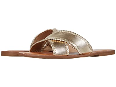 Jack Rogers Sloane X Band (Gold) Women