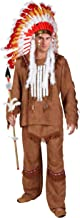 Deluxe Men's Indian Costume Medium Brown