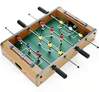 جدول كرة القدم Foosball Table, Portable Mini Children Mini Table Football, Arcade Table Soccer For Family Actives And Gami...