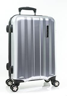 "Calvin Klein Excalibur 21"" Expandable Hardside Spinner, Silver (Silver) - LH114EX5-SIL"